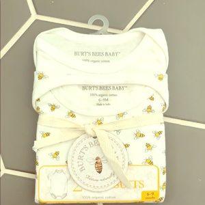 Burt's Bees 2 Pack Bodysuits